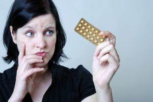 Woman Considering Birth Control Methods