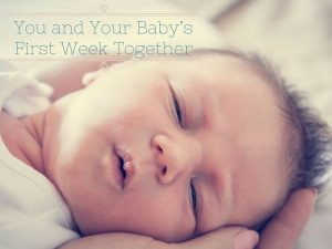 Baby's first week