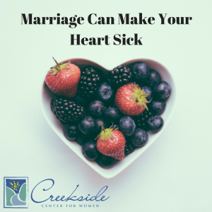 Marriage Can Make Your Heart Sick