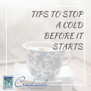 Stop a Cold Before It Starts