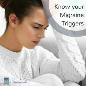 Know your migraine triggers