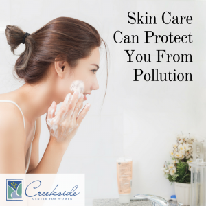Skin Care to prevent harm from air pollution