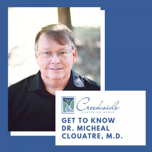 Dr. Couarte, creekside center, women's health, ge=ynecology, OBGYN, obstetrics, northwest arkansas
