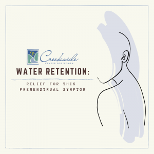 water retention, premenstrual, symptom, menstrual, women's health