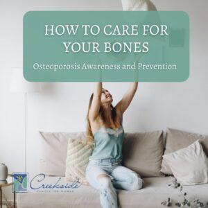 Osteoporosis, bone health, womens, northwest arkansas, clinic for women, awareness, prevention